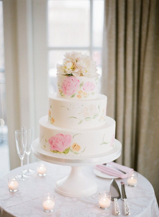Washington-DC-Wedding-Kristen-Gardner-Photography-Pink-and-White-Cake