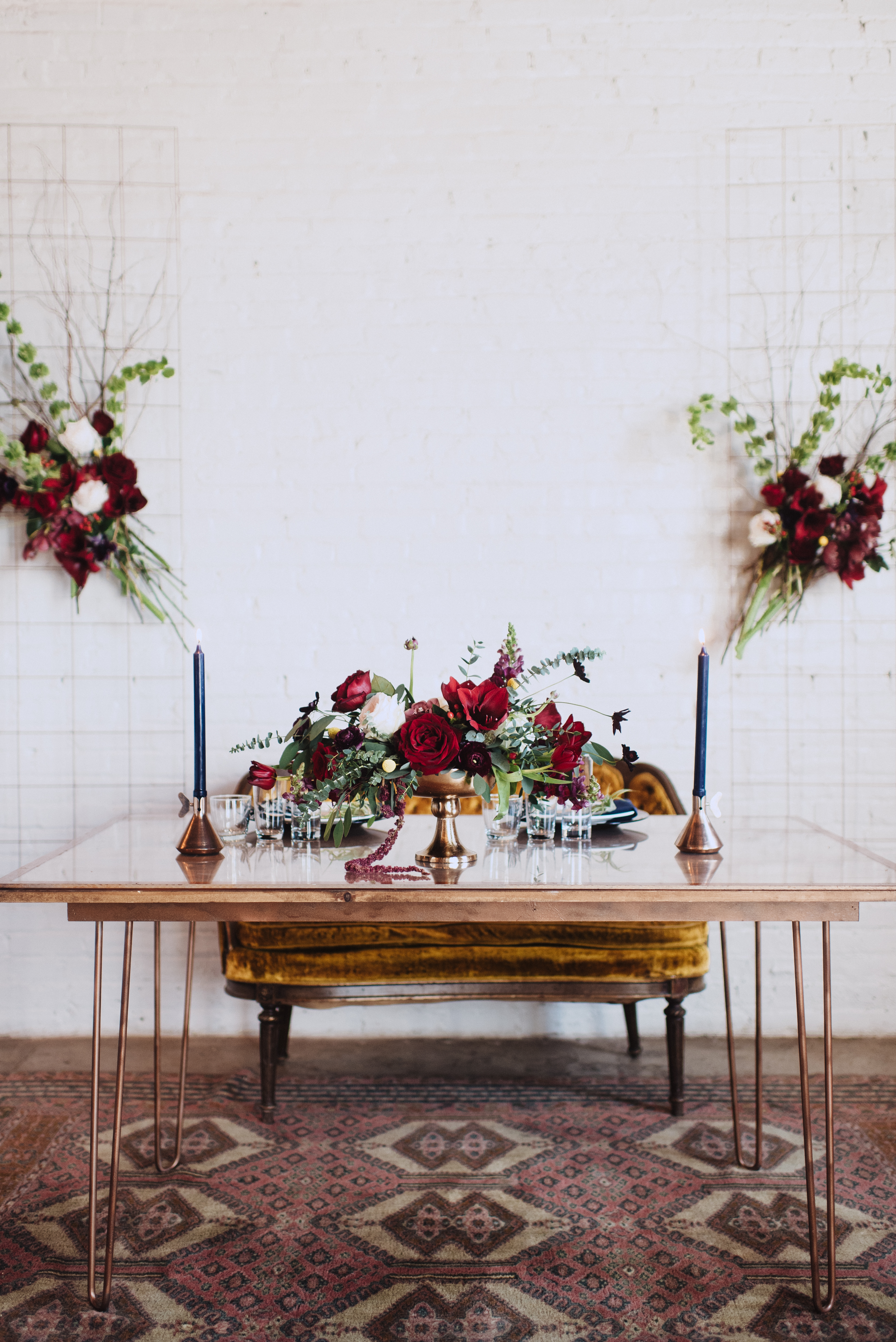 Moody Industrial Chic Wedding Inspiration - United With Love