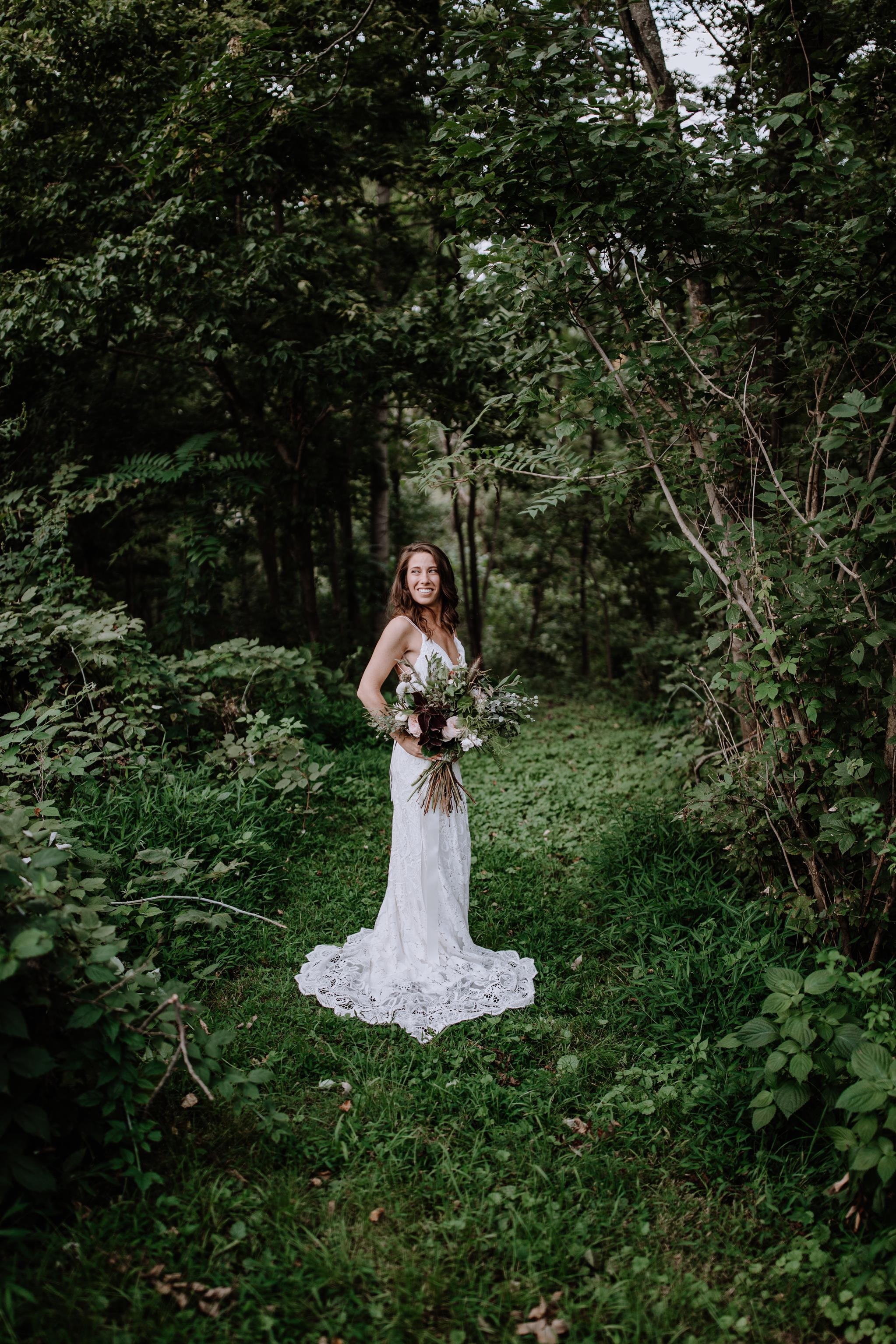 Bohemian Nature Inspired Maryland Wedding United With Love