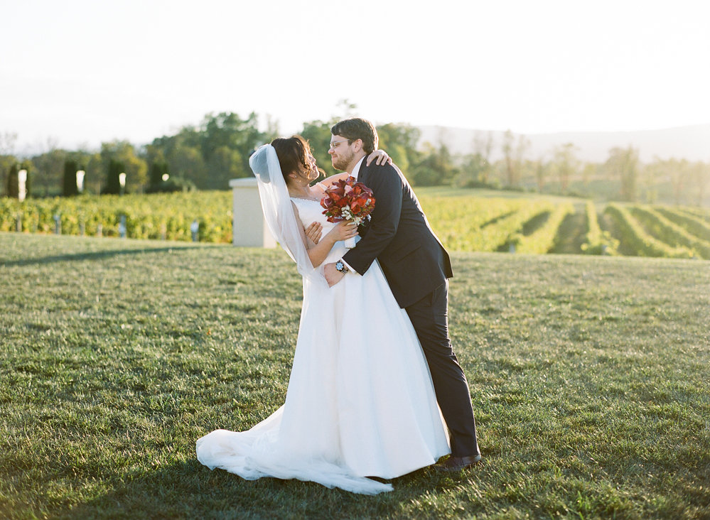 Fall virginia breaux vineyard wedding united with love