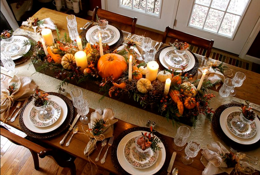 Thanksgiving Table Decor That You Can Shop