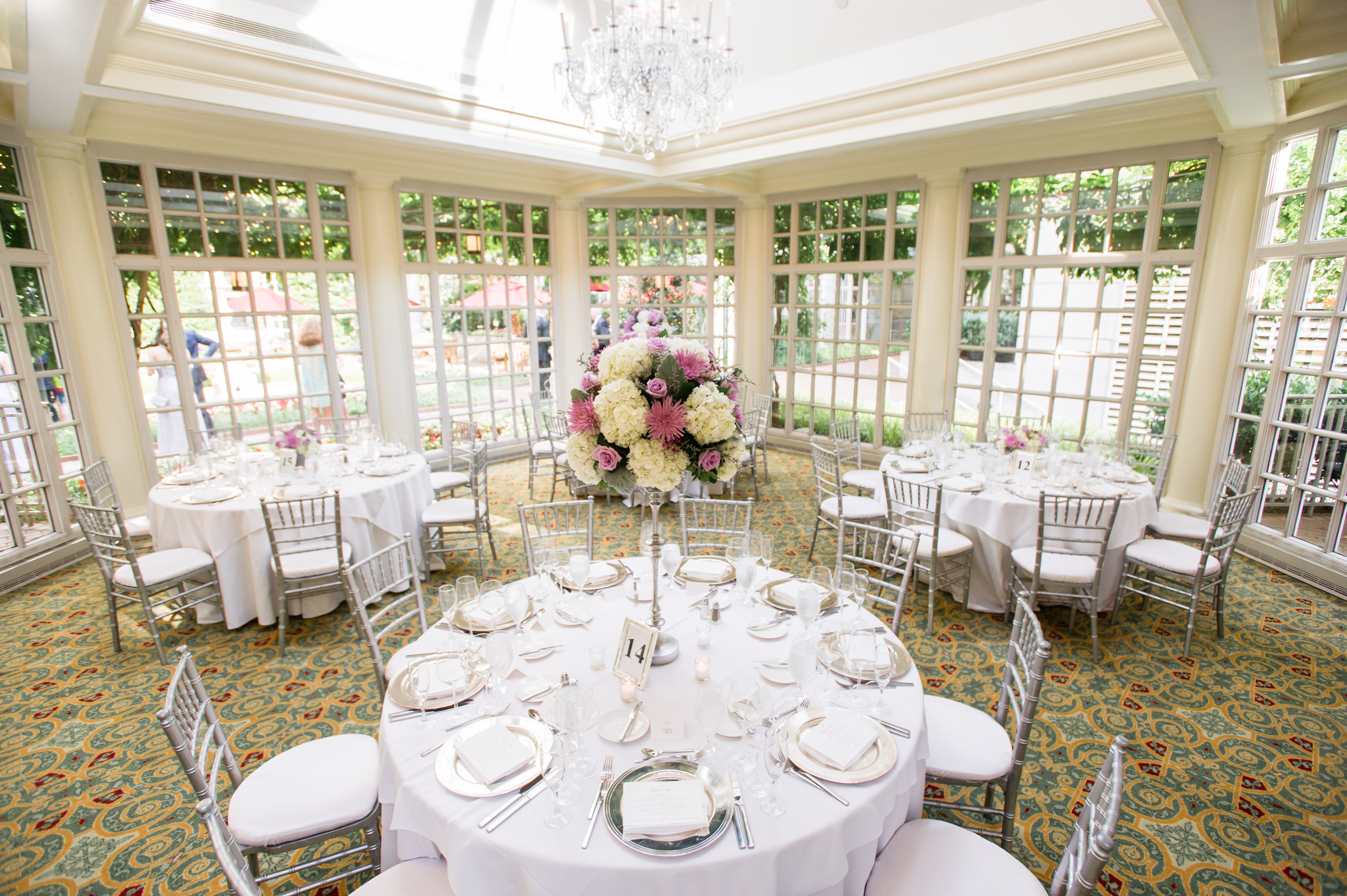 Romantic Lilac Fairmont DC Wedding - United With Love