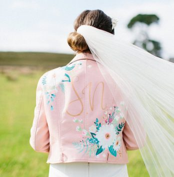 e939f433555 Trend Alert  Personalized Wedding Day Jackets - United With Love