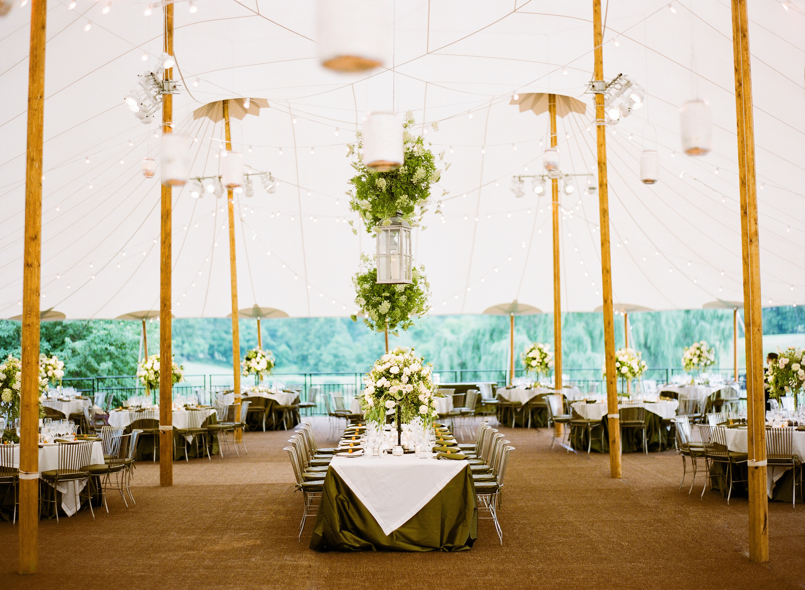 Tenting Your At Home Wedding United With Love